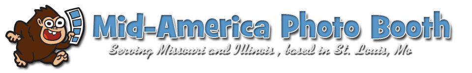 Mid-America Photo Booth logo banner