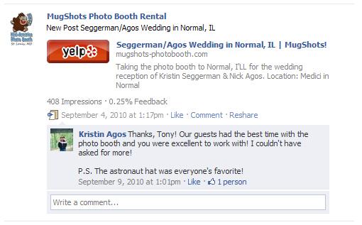 Kristin & Nick A. – Bloomington/Normal, IL
